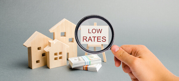 image depicting low mortgage rates
