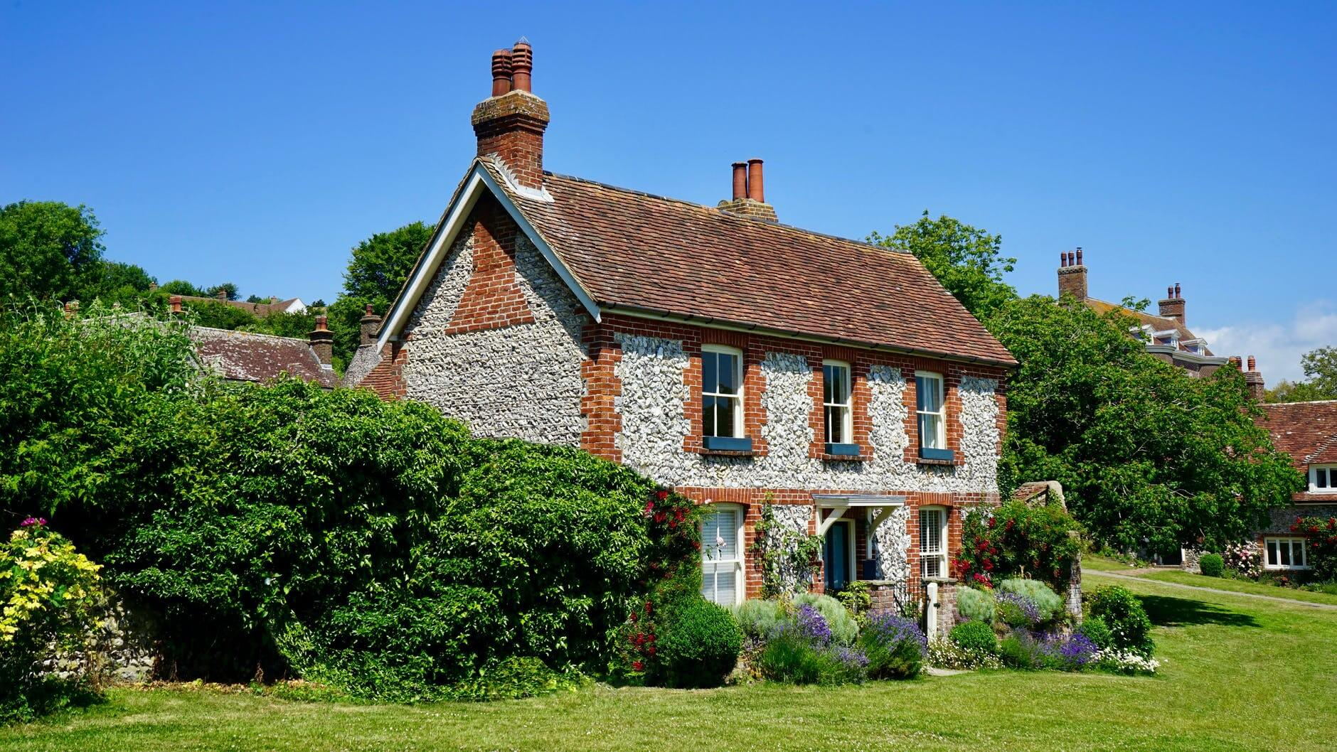 An old house for sale.